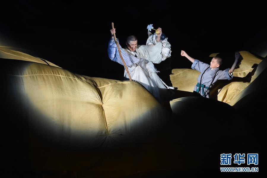 南京:博物馆大型实景演出《报恩盛典》重阳节首演