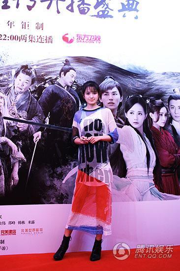 """刘智扬、肖茵《射雕》合体 """"青娅""""同台欢乐多"""