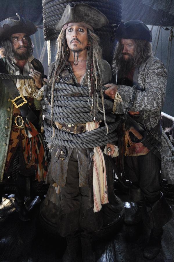 《加勒比海盗5》公布剧情 德普重返冒险之旅